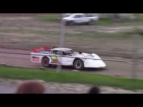 Hummingbird Speedway (9-1-18): Swanson Heavy Duty Truck Repair Semi-Late Model Heat Race #3