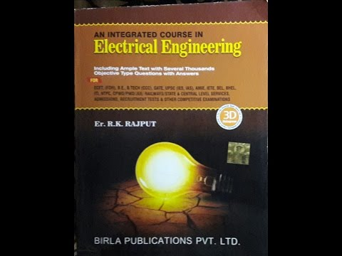 ELECTRICAL ENGINEERING || BEST ELECTRICAL ENGINEERING EXAM BOOK||