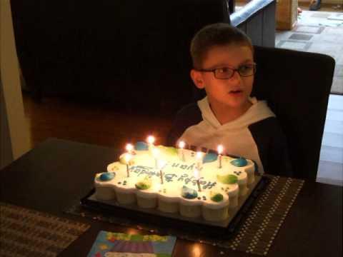 Happy birthday, dear Ryan (cha-cha-cha!)
