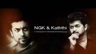 KATHTHI and NGK BGM MIX🔥| Vijay and Surya❣️ | WhatsApp Status Video | Shark and Maddy creationz ✌️