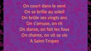 Do you Saint Tropez lyrics