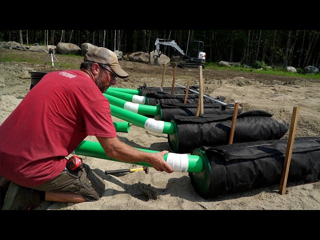 READY or NOT!! Time for INSPECTION | Building Our OWN Septic Leach Field for Our Off-Grid Tiny House