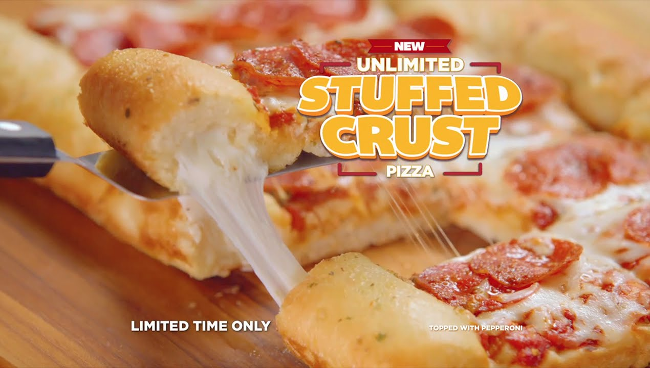 CiCis Stuffed Crust Pizza Dream 15 TV