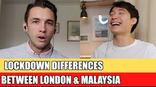 Lockdown Differences Between London & Malaysia | (Nigel Ng - Uncle Roger)