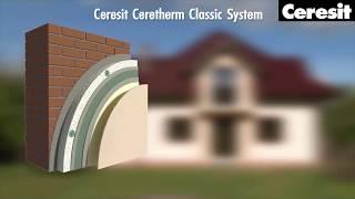 Декоративна штукатурка фасаду, відео інструкція виконання робіт з Ceresit CT 174