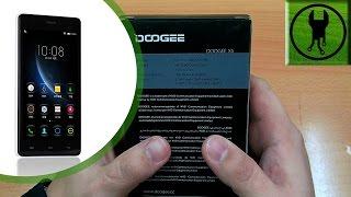 dOOGEE X5 Распаковка Обзор и моё мнение
