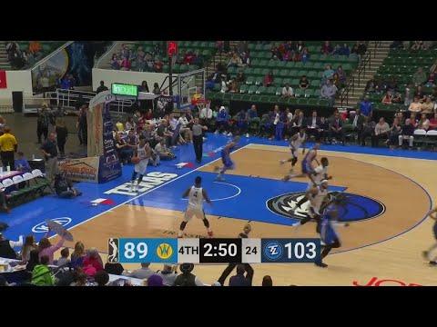 Brandon Ashley Posts 21 points & 10 rebounds vs. Santa Cruz Warriors