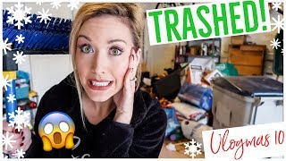 CLEAN WITH ME 2018 | MY GARAGE IS TRASHED!! 😱🤮🚘  EXTREME CLEANING MOTIVATION ✨💪🏼 Video