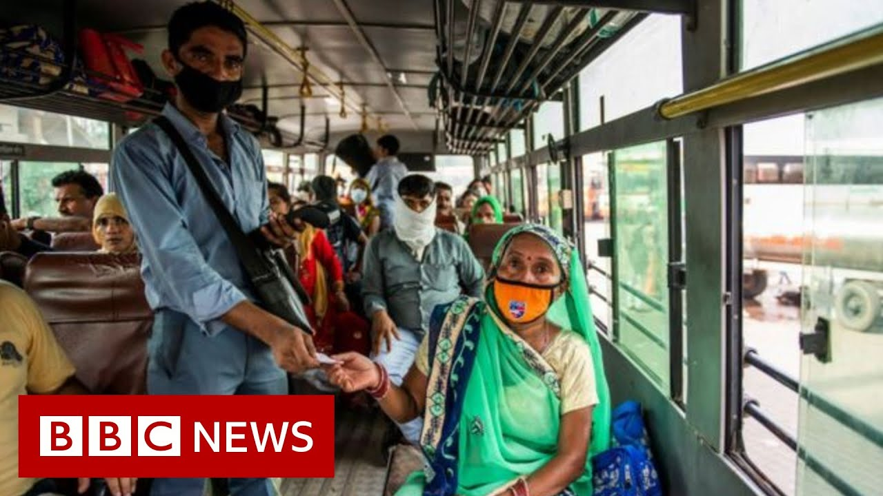 Coronavirus: India becomes third country to pass two million cases - BBC News