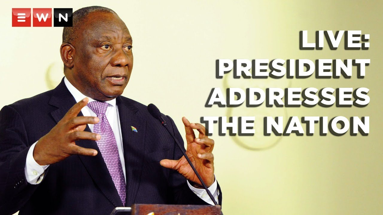 FULL SPEECH: President Ramaphosa announces SA's move to alert level 3