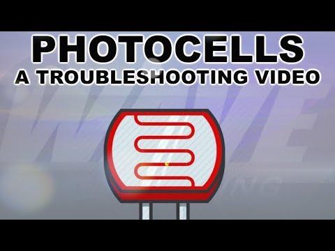 PHOTOCELLS TROUBLESHOOTING