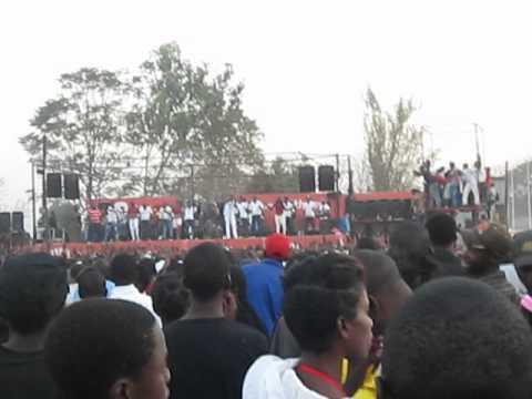 Fally Ipupa in Lusaka