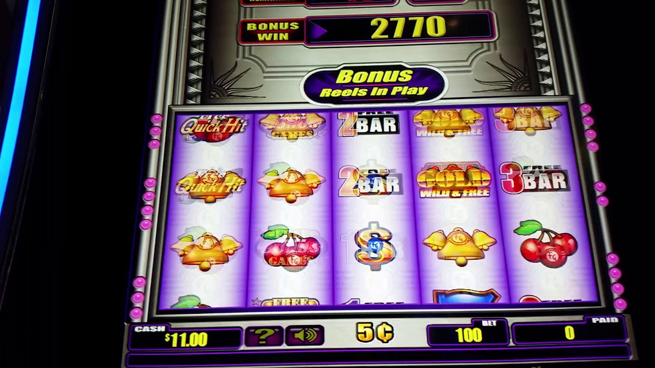 Free Quick Pick Slot Machine
