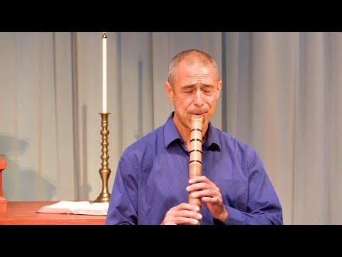 Riley Lee Performs on Shakuhachi Flute