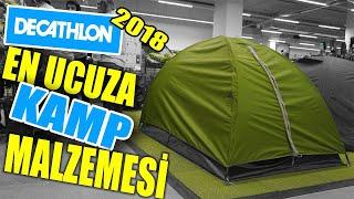 Decathlon'dan Az Paraya Kamp Malzemesi-2 2018 [Güncel fiyatlar]#ALIŞVERİŞ MEVZULARI