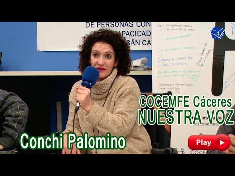 COCEMFE Nuestra Voz - Conchi Palomino