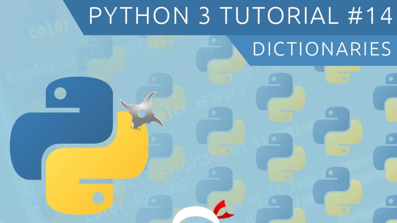 python how to make a dictionary