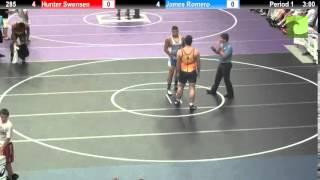 285 Hunter Swensen vs. James Romero