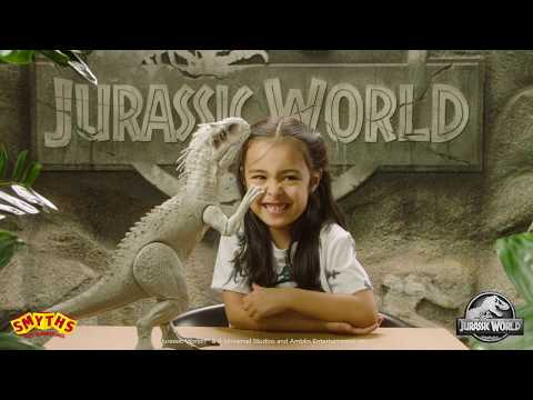 What Would You Feed An Indominus Rex? - Jurassic Your World With Smyths Toys