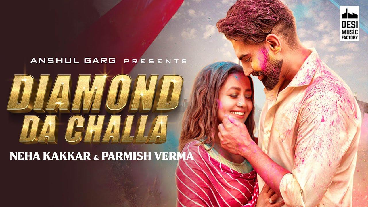 Neha Kakkar S Viral Video Dancing On Diamond Da Challa With Parmish Verma Riyaz Ali Leaves Netizen Amazed Celebrities News India Tv