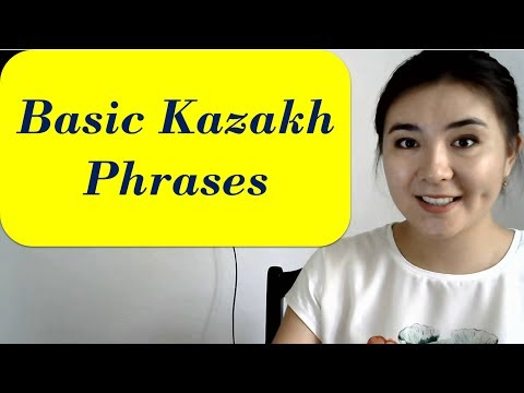 Basic phrases of Kazakh language