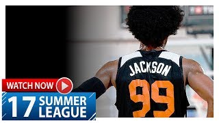 Josh Jackson Full Highlights vs Grizzlies (2017.07.13) Summer League - 13 Pts, 8 Reb