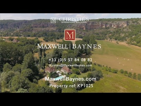 |SOLD| Stunning riverside stone mill property in the Lot, France. Maxwell-Baynes Real Estate