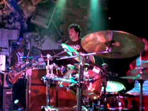 Stanton Moore of Galactic with legendary drummers