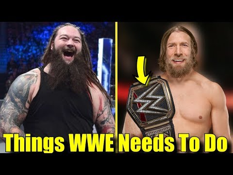 10 THINGS WWE SHOULD DO AT CROWN JEWEL!