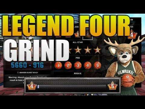 NBA 2K16 MYPARK LEGEND 4 GRIND