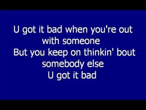 Usher - U Got It Bad LYRICS