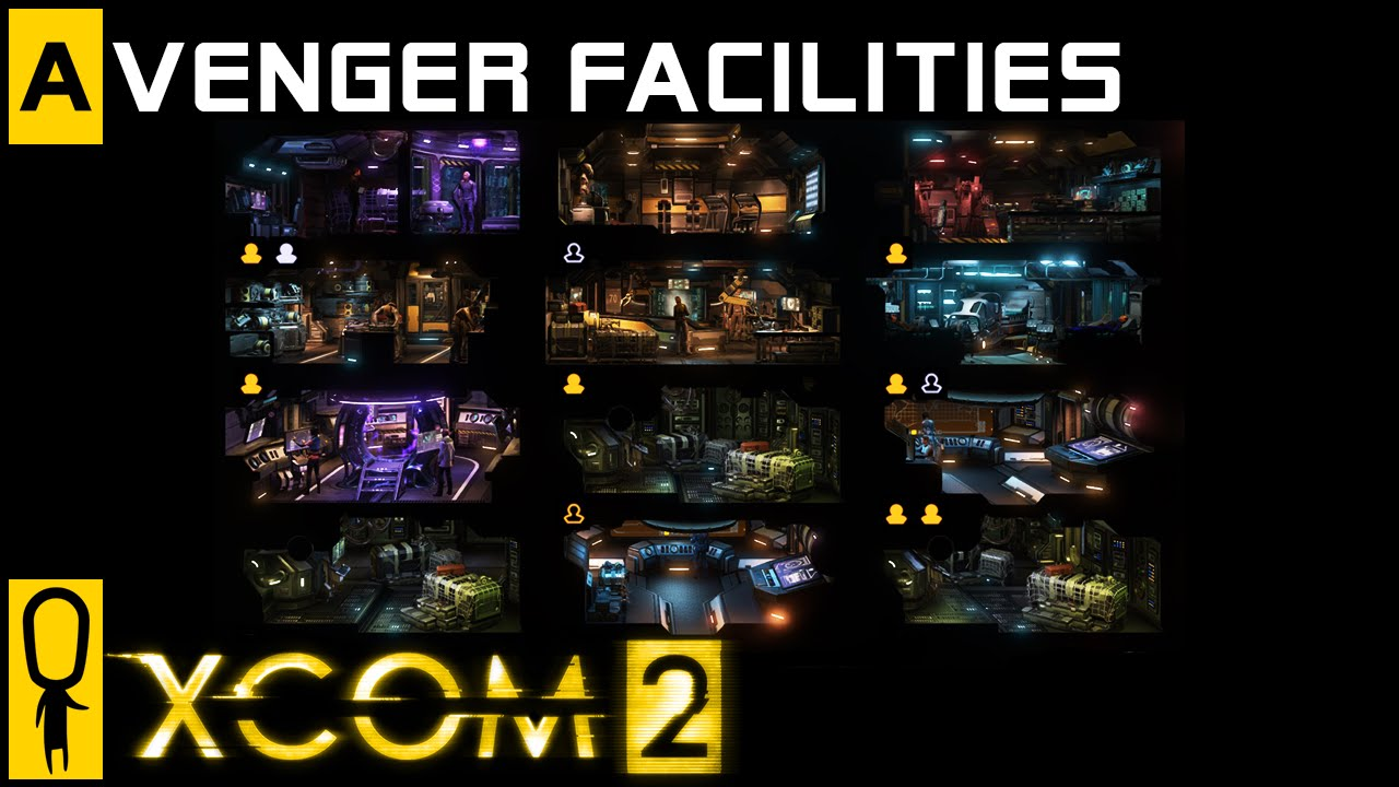 Xcom 2 Facilities Base Management Overview Preview Review Gameplay