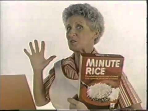 Ann B. Davis 1983 Minute Rice Commercial