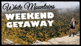 WEEKEND GETAWAY || White Mountains NH⛰
