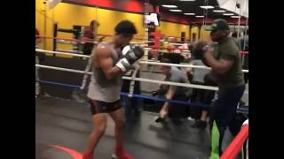 WHOA! Shawn Porter looks in better shape than Danny Garcia RIGHT NOW