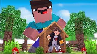 Minecraft: DESAFIO DA BASE 100% SEGURA CONTRA NOOB GIGANTE ‹ JUAUM ›