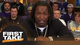 Kareem Hunt on Alex Smith trade: I hate to see a guy like that leave | First Take | ESPN