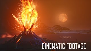 NEW CINEMATIC FOOTAGE - Unvaulting & Volcano Eruption LIVE EVENT in Fortnite