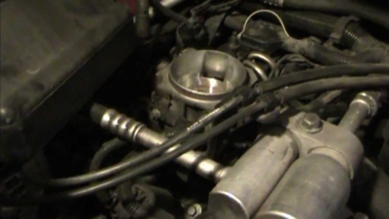How To Clean Your Vortec 43L V6 Throttle Body  YouTube