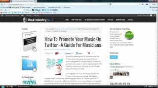 how to promote music on twitter   a guide for musicians