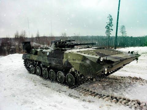 Finnish army BMP-1 / Kevätajelua bemarilla Parolannummella