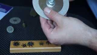 Алмазные отрезные круги диски фрезы из электробритвы СССР абразивные сетки