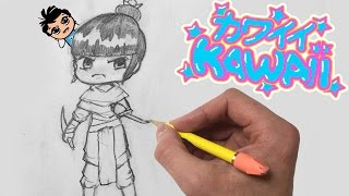 How To Draw a Kawaii Chibi ASSASSIN for Beginners - EASY Step by Step Tutorial