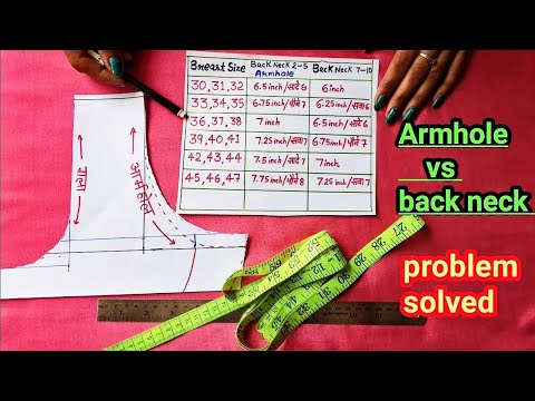 teera problems|armhole pattern drafting|size 44-45|suit cutting|armhole measurement| from YouTube · Duration:  19 minutes 28 seconds