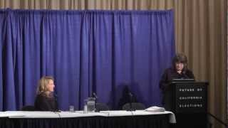 Future of California Elections Conference Opening Remarks - Part 1
