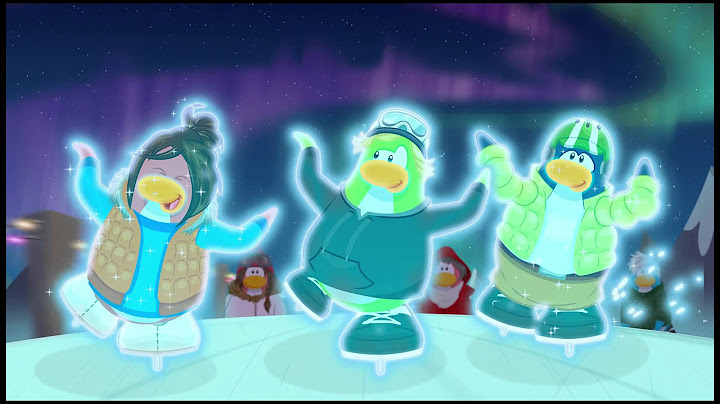 club penguin  cool in the cold  music video  hd