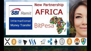 Japan-based SBI Remit and Kenya-based BitPesa are supposedly in par...