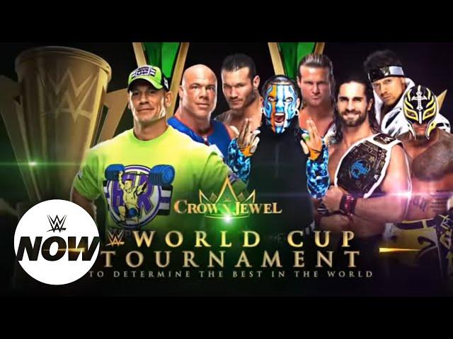 WWE Now Arabic: ثمانية نجوم يتنافسون في بطولة كأس العالم بعرض كراون جول