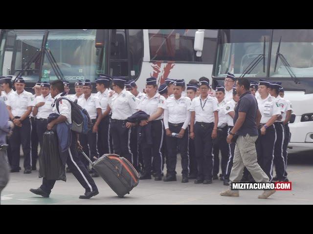 Y se fueron los 210 cadetes del IEESSPM de Zitácuaro