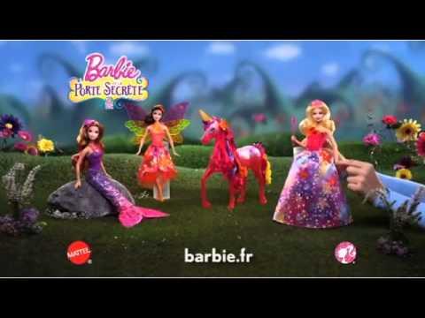 Princesse magique alexa sir ne romy et f e nori barbie la porte secr te fr youtube - Barbie sirene magique ...
